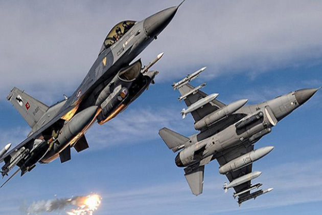TSK'dan PKK Hedeflerine Hava Harekatı