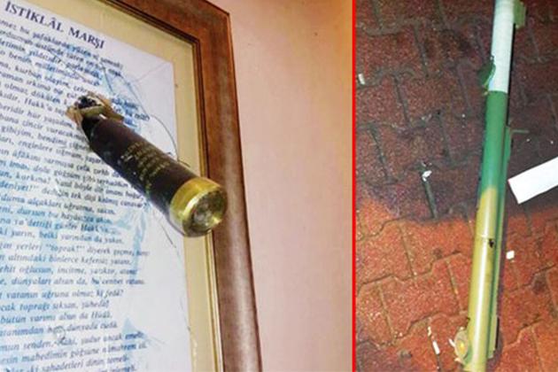 İstanbul'da Emniyet Binasına ve Ak Parti Binasına Roketli, Lav Silahlı Saldırı!