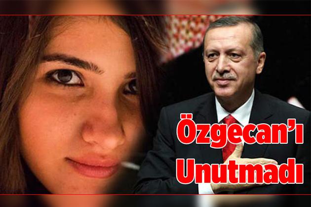 Cumhurbaşkanı Erdoğan'dan Özgecan İçin Tweet