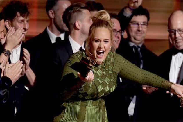 Adele, Grammy Ödüllerini Süpürdü