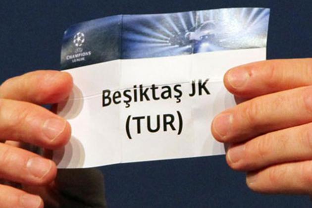 Beşiktaş'ın UEFA Avrupa Ligi Rakibi Belli Oldu
