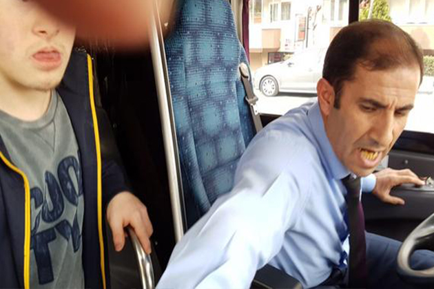 Engelli Ömer İle Babasını Kovan Şoför Hakkında İşlem Başlatıldı