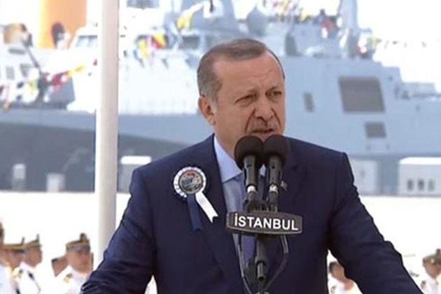 Cumhurbaşkanı Erdoğan: Uçak Gemisi Yapacağız