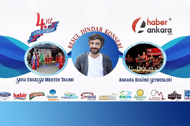 """Resul Dündar """"4. Yıl Medya Ödül Töreni"""" İçin Ankara'ya Geliyor"""