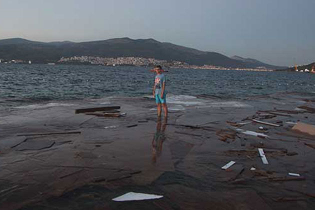 Bursa'da Suntalar Denize Vurdu