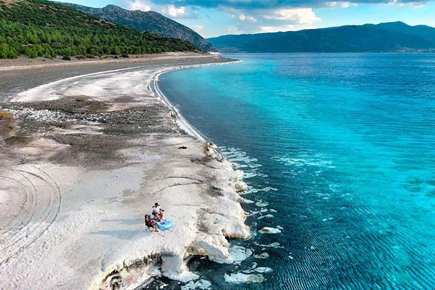 Türkiye'nin Maldivler'i Salda Gölü