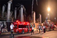 AVM Binasında Göçük: 1'i Ağır, 6 İşçi Yaralandı