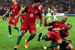 EURO 2016'da Portekiz Yarı Finalde