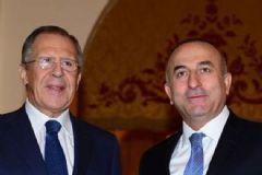 Çavuşoğlu ve Lavrov Soçi'de Görüştü