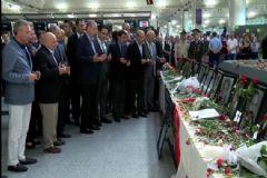 Cumhurbaşkanı Erdoğan Atatürk Havalimanı'nda İncelemelerde Bulundu