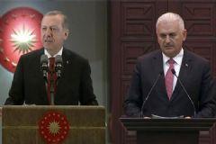 Cumhurbaşkanı Erdoğan ve Başbakan Yıldırım'dan Irak'a Taziye