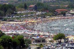 İstanbul Plajları Doldu Taştı