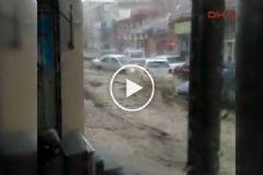 Kayseri'deki Sel Can Aldı
