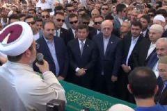 Davutoğlu Ve Kahraman Abdullah Yeğin'in Cenaze Törenine Katıldı