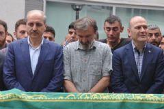 Kurtulmuş Ve Soylu Trabzon'da Cenaze Törenine Katıldı