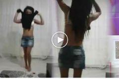 Fenomen Gelin Adayı Solmaz'dan Çıplak Dans
