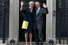 İngiltere'nin Yeni Başbakanı Resmen Göreve Başladı