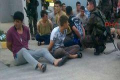 Sabiha Gökçen'de Çatışma, Havaya Ateş Açan Askerler Gözaltında