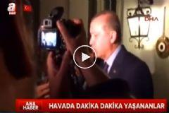 Erdoğan'ı Taşıyan Uçak İle Kule Arasında O Gece Neler Konuşuldu?