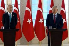 Başbakan Yıldırım Ve Kılıçdaroğlu'ndan  Ortak Açıklama