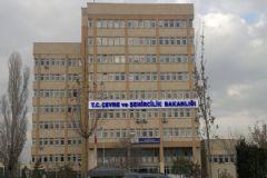 Çevre ve Şehircilik Bakanlığı'nda Görevden Alma