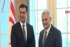 Başbakan Yıldırım Ve KKTC Başbakanı Özgürgün'den Ortak Basın Toplantısı