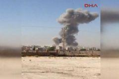Suriye'de Bomba Yüklü Kamyon Patlatıldı!