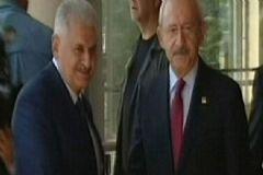 Başbakan Yıldırım'dan CHP Ve MHP Ziyareti