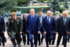 Cumhurbaşkanı Erdoğan Genelkurmay Başkanlığına Geldi