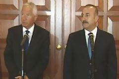 Çavuşoğlu ve Jagland Ortak Açıklama Yaptı