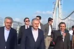 Başbakan Yıldırım 3. Köprüyü İnceledi