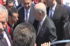 MHP Lideri İstanbul'a Geldi