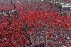 Yenikapı'da Tarihi Anlar Yaşanıyor! Rekora İlerliyor