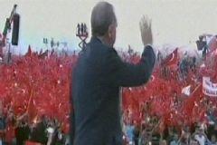 Cumhurbaşkanı Erdoğan Yenikapı'da Kürsüde