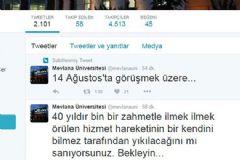 14 Ağustos Tweeti İle İlgili 6 Kişi Tutuklandı