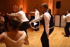 Damat Ve Arkadaşlarından Geline Unutulmaz Dans