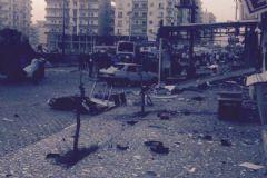 Mardin'de  Patlama :1 Polis Şehit Oldu 2 Sivil Hayatını Kaybetti