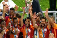 Turkcell Süper Kupa Galatasaray'ın