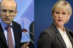 Mehmet Şimşek'ten İsveç Dışişleri Bakanı Margot Wallström'e Sert Tepki