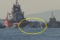 Yük Gemisi Sahil Güvenlik Botuyla Çarpıştı: 3 Şehit