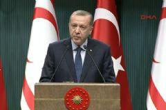 Cumhurbaşkanı Erdoğan, KKTC Cumhurbaşkanı Mustafa Akıncı ile Ortak Basın Toplantısı Düzenledi