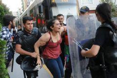 Özgür Gündem İçin Protesto Yapan 11 Kişi Gözaltına Alındı