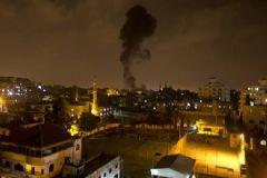 İsrail Gazze'yi 20 Dakika Boyunca Vurdu!