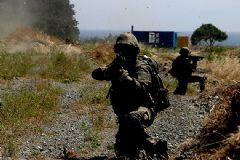 Hakkari'de PKK'lı Teröristler Ve Güvenlik Güçleri Arasında Çatışma