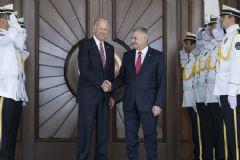 Başbakan Yıldırım ve ABD Başkan Yardımcısı Biden Ortak Basın Toplantısı Düzenledi