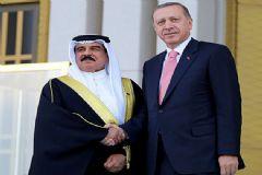 Cumhurbaşkanı Erdoğan, Bahreyn Kralı'nı Kabul Etti