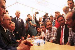 Artvin Şehidi Uğurlandı, Kılıçdaroğlu Cenazeye Katıldı