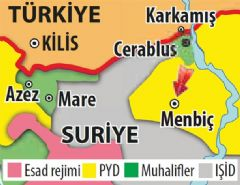 PKK/PYD; Menbiç'e Yığınak Yapıyor