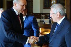 Cumhurbaşkanı Recep Tayyip Erdoğan, Kulüpler Birliği Heyeti'ni Kabul Etti