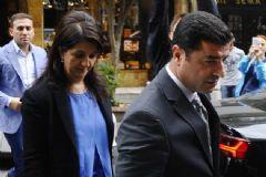 HDP Eş Genel Başkanı Demirtaş ile Milletvekili Buldan İfade Vermeye ÇAğrıldı